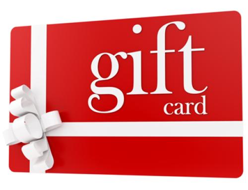 December Gift Cards